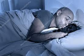 Man Sleeping In Bed Image Gallery Of Man Sleeping In Bed At Night