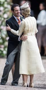 pippa middleton wedding mum carole arrives at church daily mail