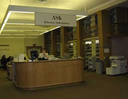 Library Reference Desk Information Commons At Bucknell