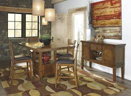 counter dining room sets signature design by ashley ralene rectangular dining room counter