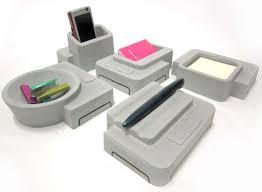 Design Desk Accessories Umamy Concrete Desk Accessories Accessories Better Living