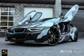 Black Bmw I8 Bmw I8 Savini Wheels