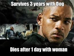 Go On Meme - i am legend couldn t go on without his best friend