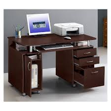Computer Storage Desk Techni Mobili Complete Computer Workstation With Cabinet And