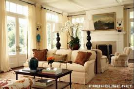 British Style Living Room Decoration  Living Room Design - Colonial living room design