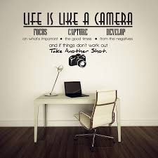 life is like a camera vinyl wall lettering quotes sayings words life is like a camera vinyl wall lettering quotes sayings words art decals j174