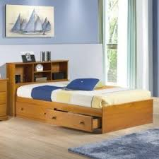 Twin Size Bed Frame With Drawers Solid Wood Twin Platform Bed Foter