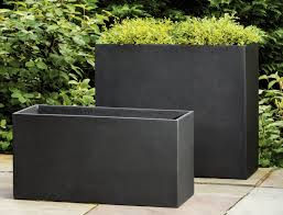planters interesting large plant containers tall outdoor planters