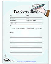 fax cover sheet example pdf cover letter sample