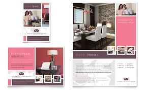 design flyer layout interior designer flyer ad template word publisher