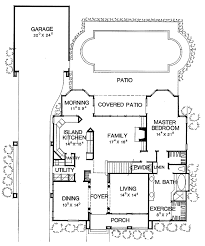 Floor Plans With Porte Cochere Mediterranean Style House Plan 4 Beds 3 5 Baths 3154 Sq Ft Plan