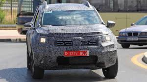 renault dacia duster 2018 dacia duster spied for the first time