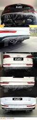 Audi Q5 8r - s q5 style rear bumper bar diffuser with twin muffler tips for