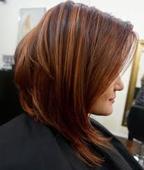 red brown long angled bobs 37 cute medium haircuts to fuel your imagination angled bobs