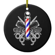 barber pole ornaments keepsake ornaments zazzle