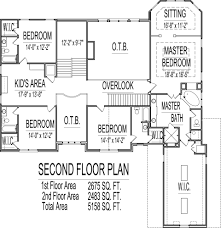 floor house plans 5 bedroom house plans 2 story kerala savae org
