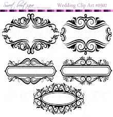 floral frame ornaments decoration graphics border vintage