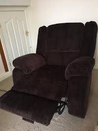 Argos Riser Recliner Chairs Argos Collection Shelly Fabric Manual Recliner Chair Chocolate