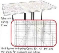 Sullivans Home Hobby Table Sullivans 12572 Ironing Board Table Cover 36x59