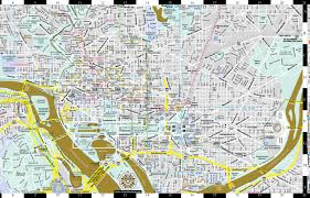 Smithsonian Map New Artwise Washington Dc Laminated Museum Map Streetwise Maps