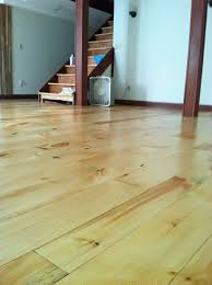 Hardwood Plank Flooring Wide Plank Floor Diy Rough Cut To Tongue And Groove 10 Steps