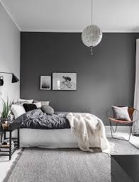 Dark Accent Wall In Small Bedroom Best 25 Grey Walls Ideas On Pinterest Gray Bedroom Grey Walls