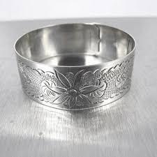 antique sterling silver cuff bracelet images Shop sterling silver floral cuff bracelet on wanelo jpg