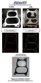 nissan frontier intake manifold spacer nwp engineering thank you to all my loyal customers maxima forums