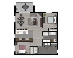 appartement 2 chambres nos appartements le boisé des jardins