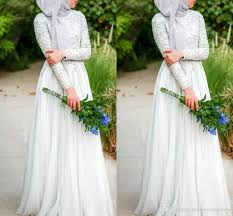 wedding dress muslimah discount muslim wedding dresses with simple white