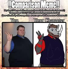 Side By Side Meme - comparison meme by toasterpip on deviantart