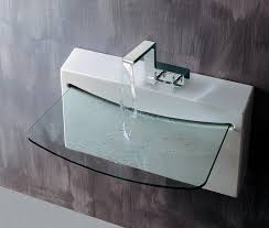 Designer Bathroom Sink Contemporary Bathroom Sinks Home Design Styles Intended For