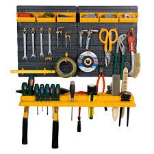garage kit organizer wall tool panel mini rack home storage unit