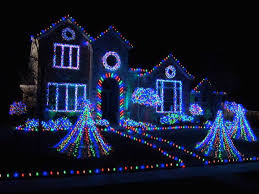 Christmas Decorated Houses Stylish Design Christmas House Decorations Deck The With Lots Of