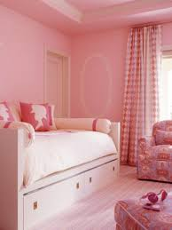 bedroom small modern teenage girls design in pink color theme with