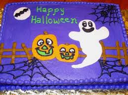 cakes for halloween halloween sheet cake cakecentral com