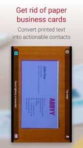 Business Card Reader Scanner Business Card Reader Pro Business Card Scanner 4 7 621 Download