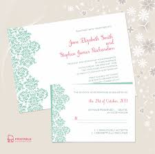Wedding Invitations And Rsvp Cards Together 22 Free Printable Wedding Invitations