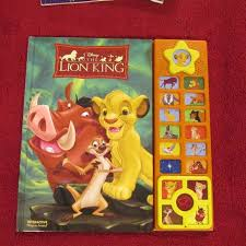hc lion king interactive play sound book sale