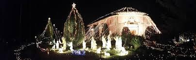 altadena ca the balian house and christmas tree lane