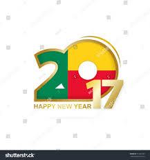 Benin Flag Year 2017 Benin Flag Pattern Happy Stock Vector 511803799