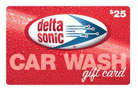 sonic gift cards 25 delta sonic gift card delta sonic car wash