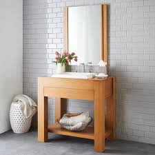 Bamboo Bathroom Cabinet Bamboo Bathroom Vanities Decor Gyleshomes Com