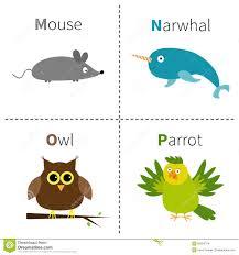 imagenes en ingles con la letra p loro letra de p alfabeto animal de los niños lindos en vector