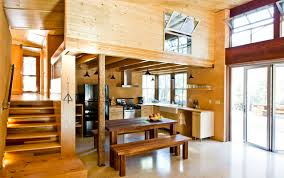 functionality in the forest magnificent chalet style house sits