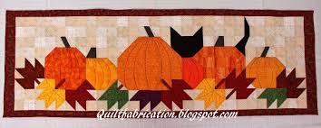 thanksgiving table runner pattern pumpkat patch table runner