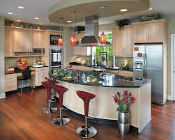 kitchen island variations maple is favored for its relatively subtle grain patterns and