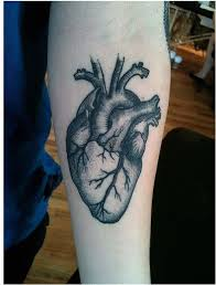 105 best heart tattoos for men images on pinterest amazing art
