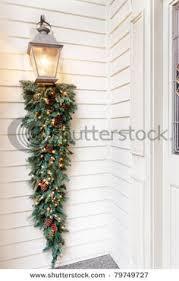 christmas swags for outdoor lights christmas swags for outdoors decorated teardrop swag for outdoor