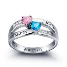 Custom Engraved Jewelry Wedding Rings Personalized Name Jewelry Mens Engraved Promise